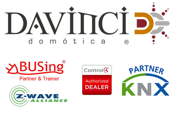 Domotoca DaVinci Z-Wave Alliance BUSing partner KNX Control 4